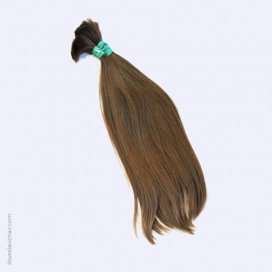 Virgin Slavic Hair Bundle, Color #7, 20″-50cm, 138 grams