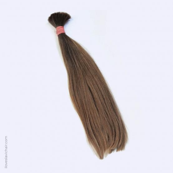 Virgin Slavic Hair Bundle, Color #8-9, 18″-45cm, 120 grams
