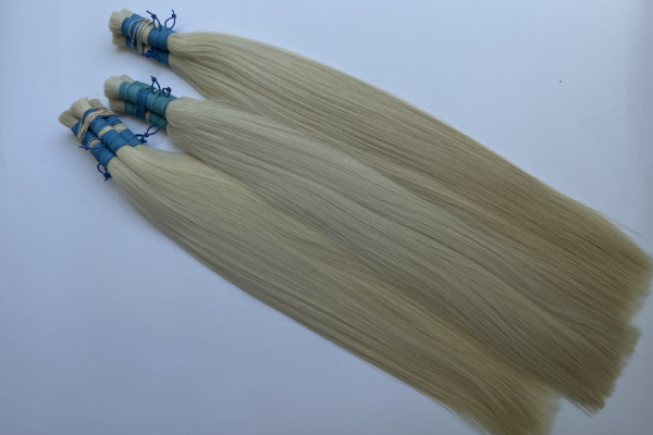 blonde Russian hair bundles