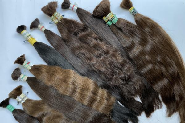 Russian bulk hair
