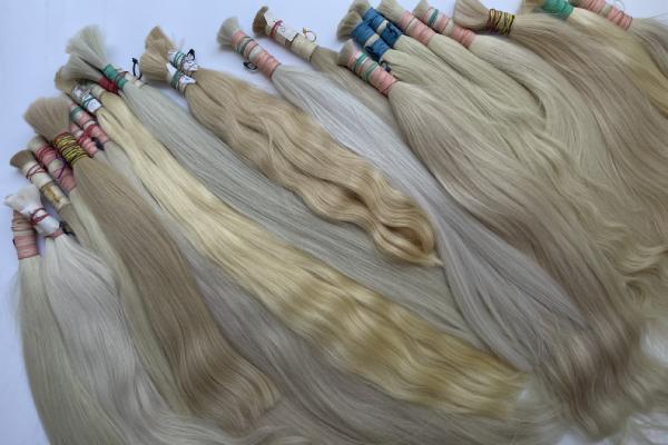 Slavic blonde hair