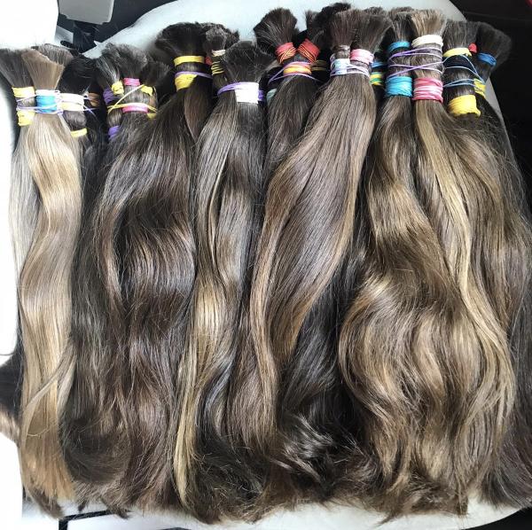 virgin Slavic hair bundles