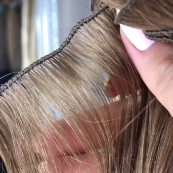 Russian hand-tied weft extensions