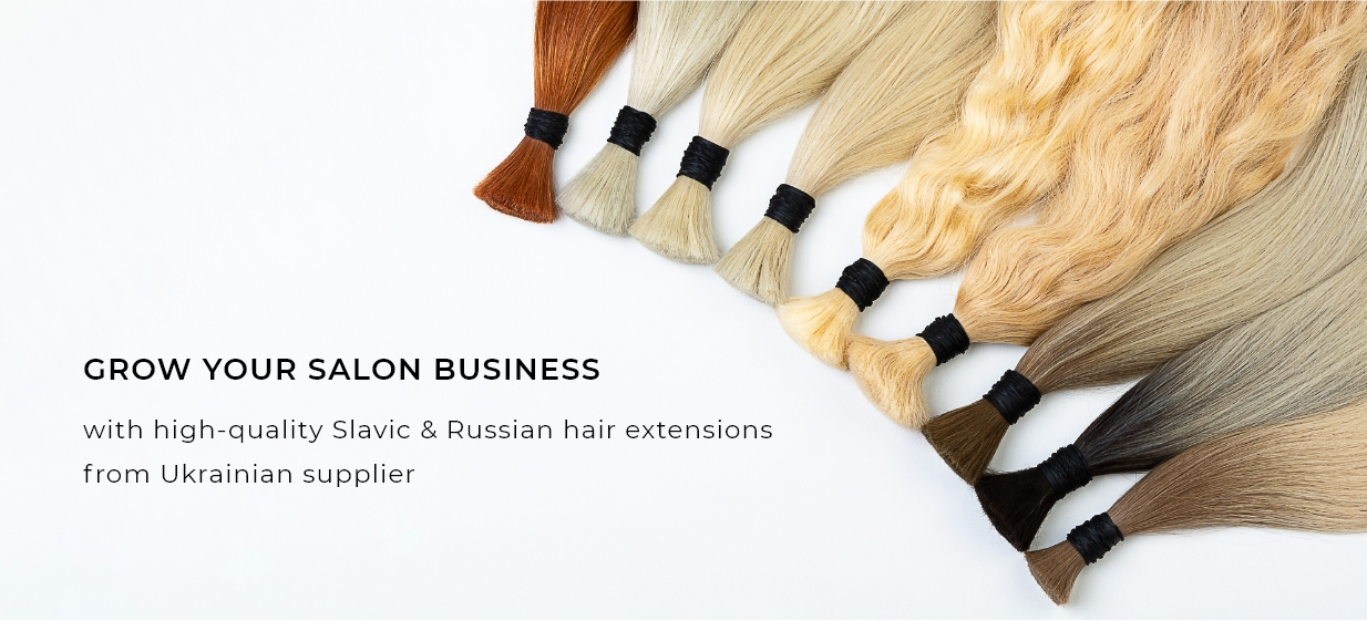 Slavic and Russian hair extensions wholesale